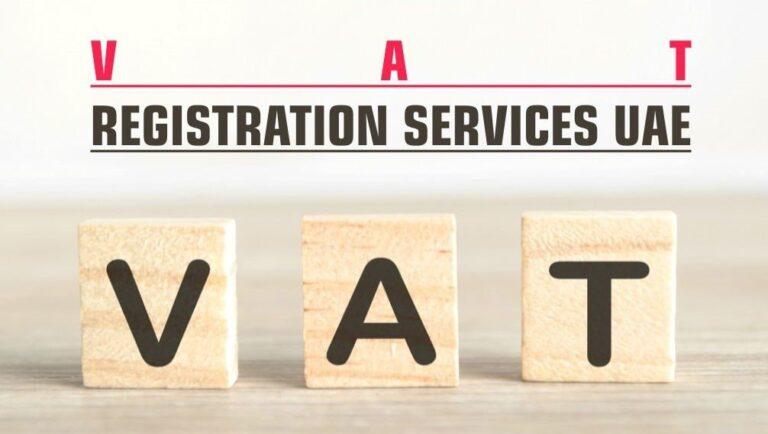 VAT Registration Services in UAE